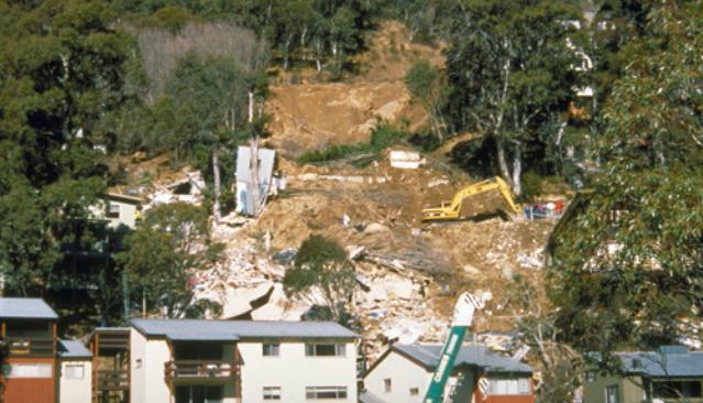 Thredbo Landslide 1997 Cleanup Response Jpg