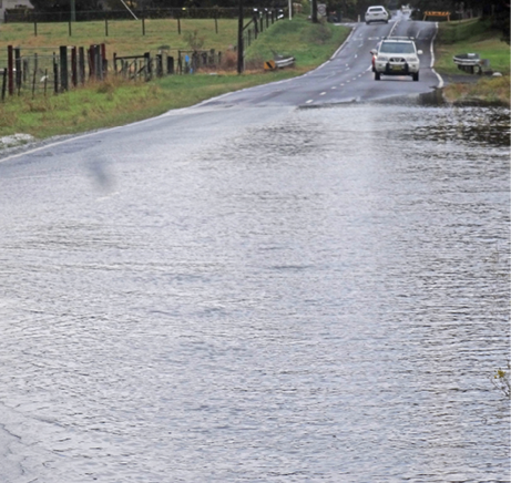 Motorist behaviour during the 2015 Shoalhaven floods