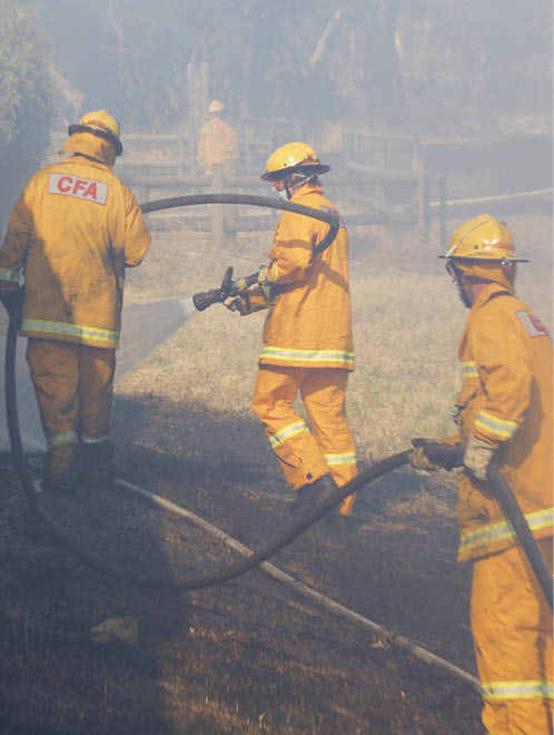 Research helps to identify why volunteers leave and looks at ways to improve volunteer retention. Image: Country Fire Authority