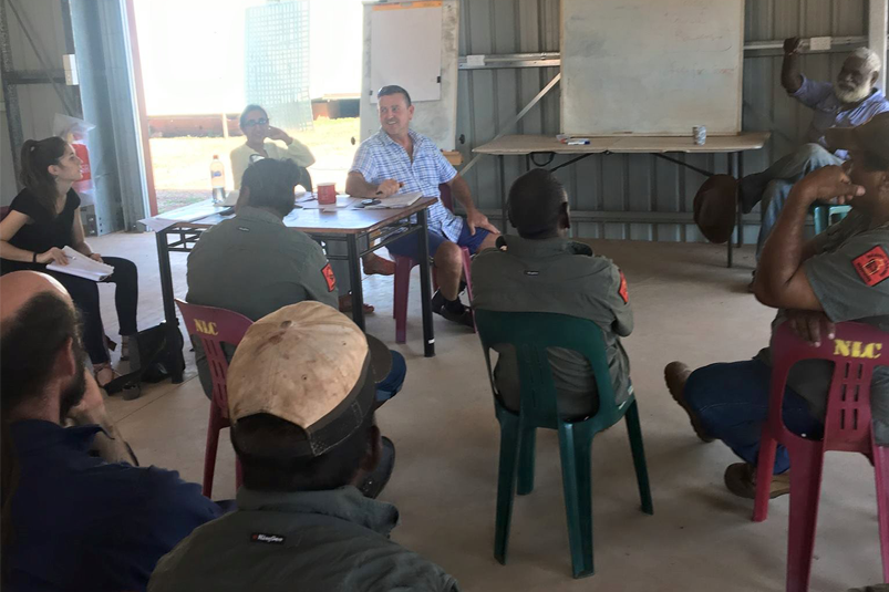 A ranger group in Borroloola discuss their engagement in the emergency management sector for the local area.