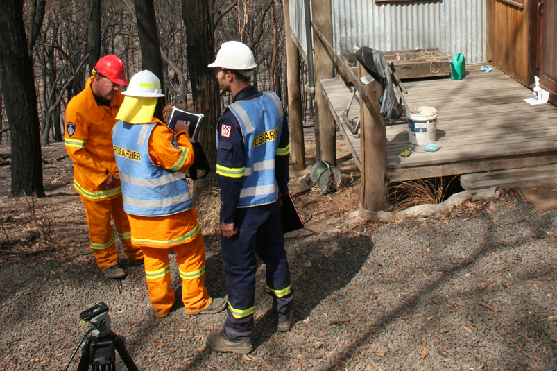 Researchers were deployed within days of the Black Saturday bushfires in 2009, assessing community behaviour, fire behaviour and building construction.